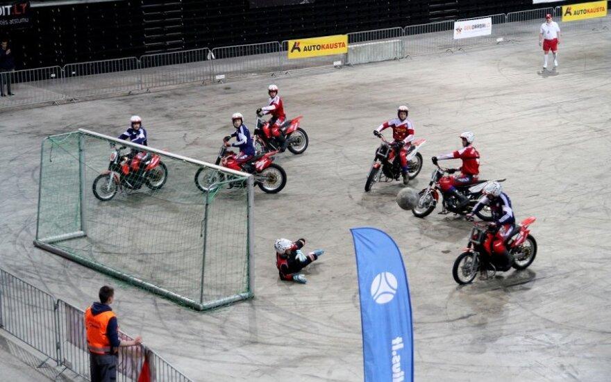 """""""Žalgirio"""" arenoje karaliavo motociklininkai"""