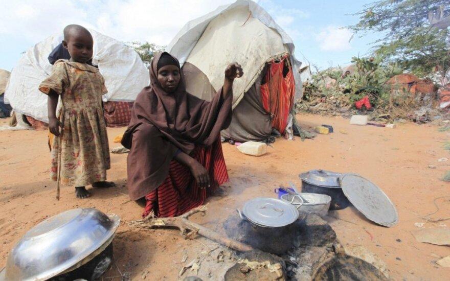 Iš bado pasaulyje kasmet miršta 3,1 mln. vaikų