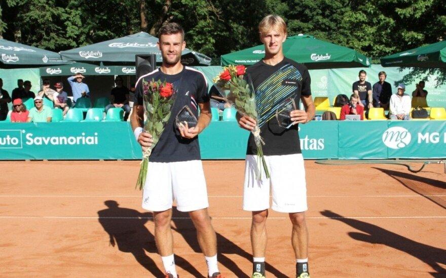 l. Grigelis ir L. Mugevičius, 2016 Prezidento taurės dvejetų nugalėtojai
