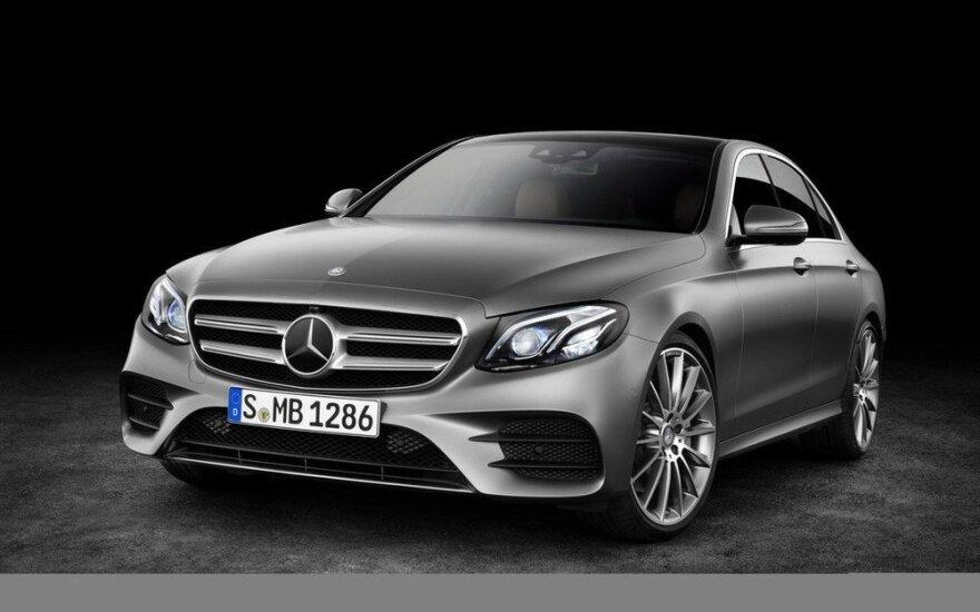 """Dešimtos kartos """"Mercedes-Benz E klasė"""""""