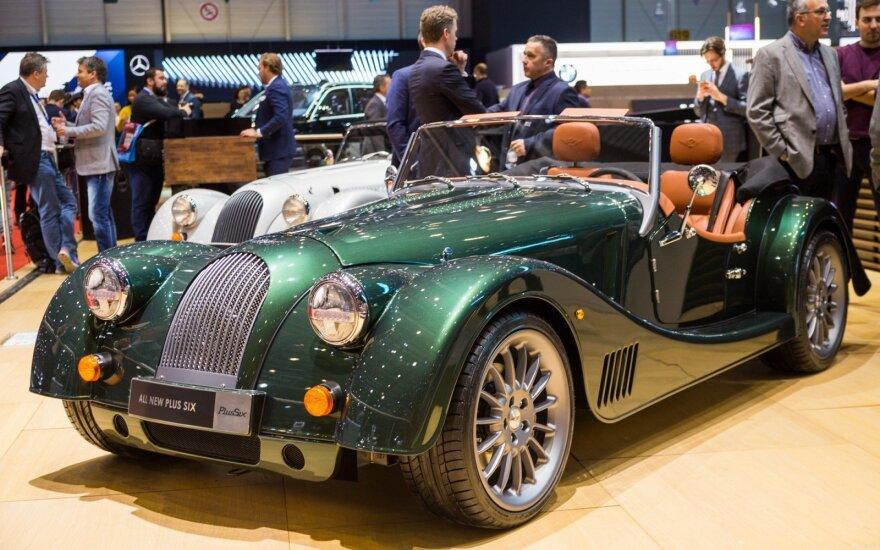"""Ženevoje pristatytas """"Morgan SixPlus"""" automobilis"""
