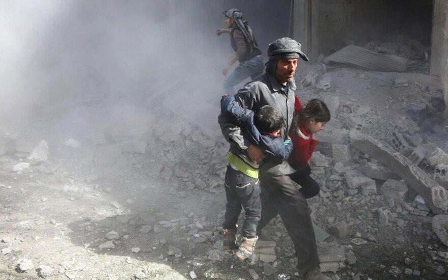 Macronui pagrasinus, Sirija paneigė turinti cheminių ginklų