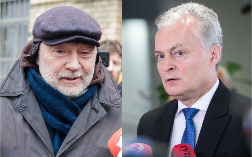 Konstantinas Gurinas ir Gitanas Nausėda