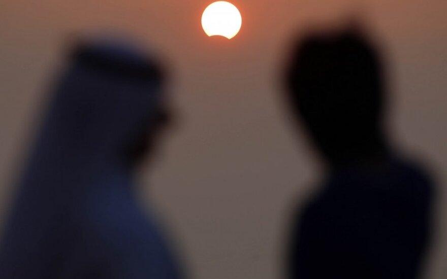 Saulės užtemimo stebėjimas, 2013 m. lapkričio 3 d.