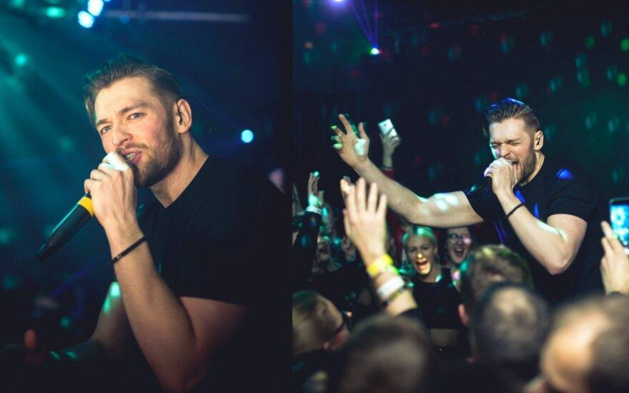 Jurijus surengė koncertą gėjų klube