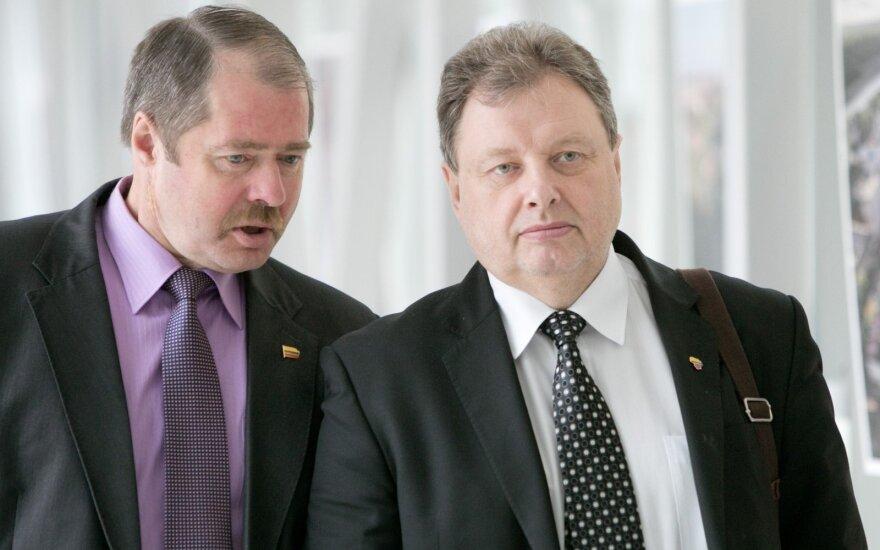 Ričardas Sargūnas, Petras Narkevičius