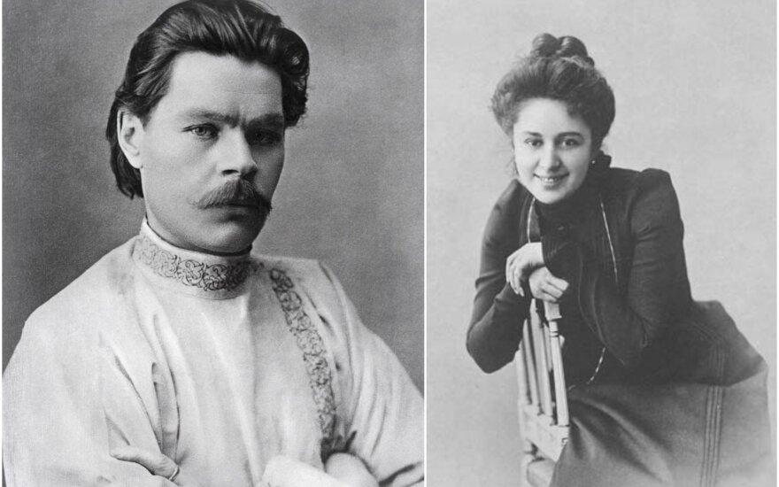 M. Gorkis ir M. Andrejeva