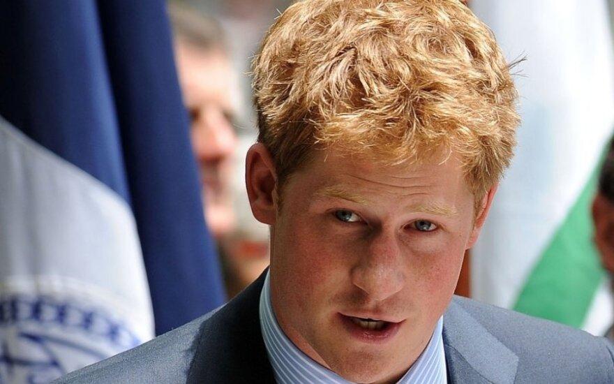 Princui Harry rugsėjo 15 dieną suėjo 30 metų.