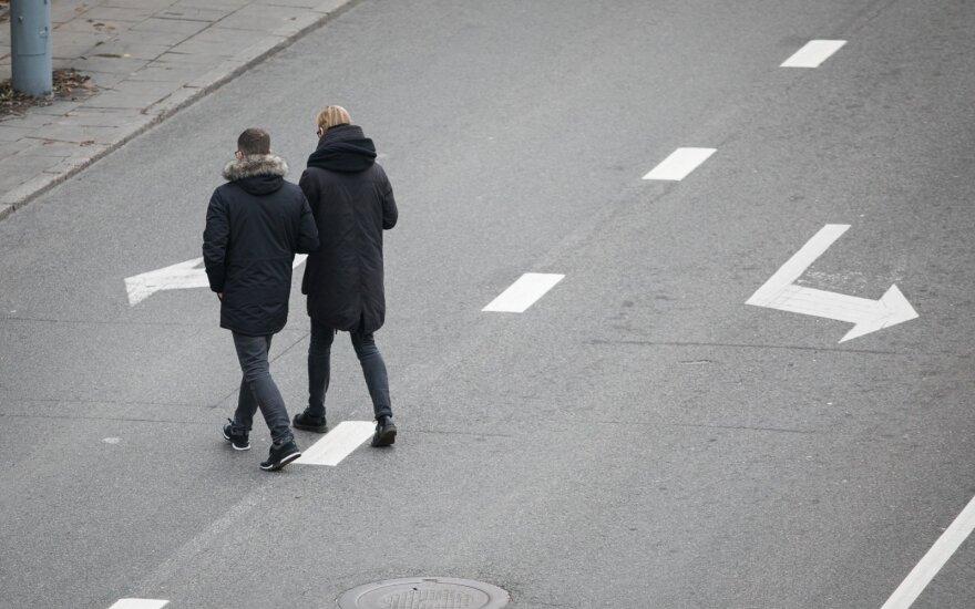 Tris mėnesius Kauno pareigūnai didesnį dėmesį skirs pėstiesiems