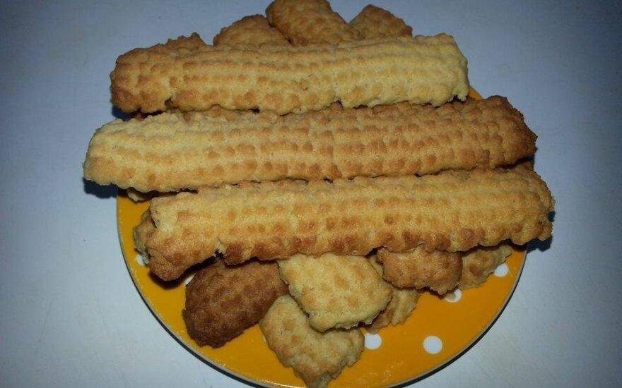 Kaip pas mamą: burnoje tirpstantys naminiai sausainiai