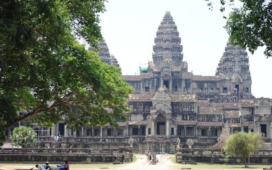 Angkor Wat šventyklos, Kambodža