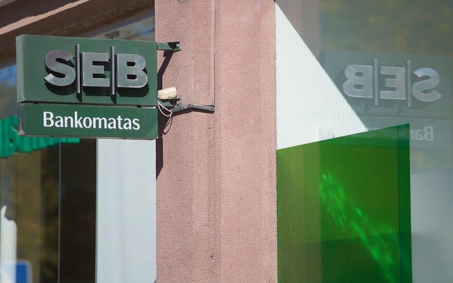 SEB internetinė bankininkystė vis dar neveikia: problemos tęsiasi visą dieną