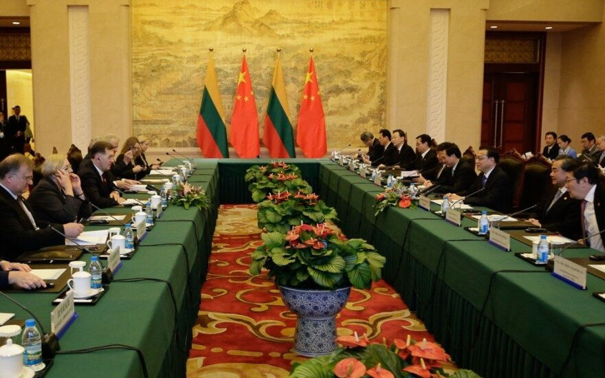 """""""16+1"""" formatas: Lietuva ištroškusi didesnių Kinijos investicijų"""