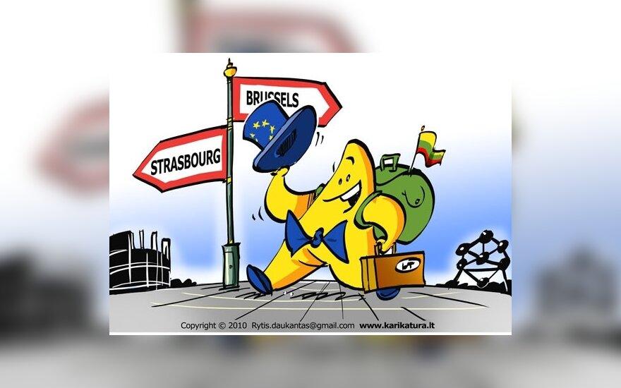 Europiukas iškeliauja į Europos Parlamentą