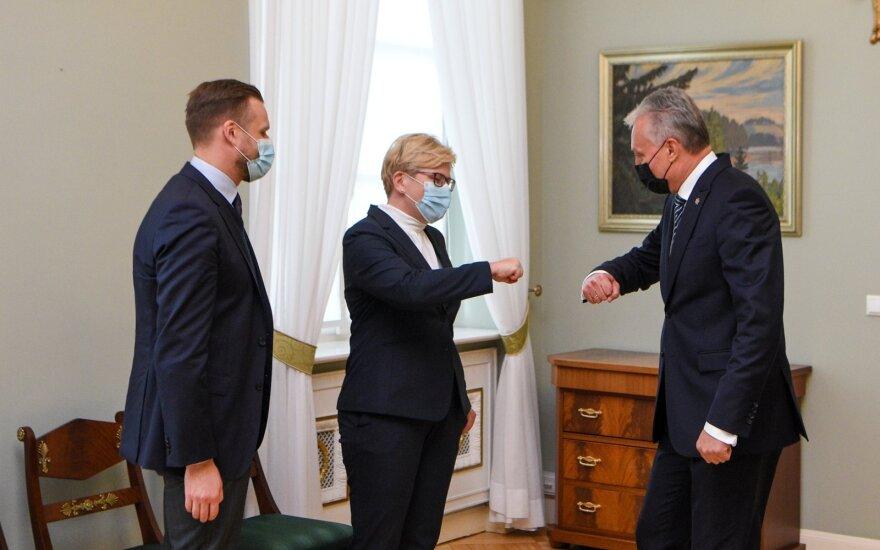 Gabrielius Landsbergis, Ingrida Šimonytė, Gitanas Nausėda