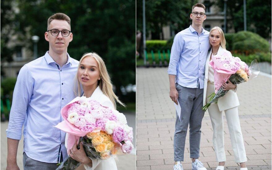 Arnoldas Kulboka ir Gitana Paulauskaitė