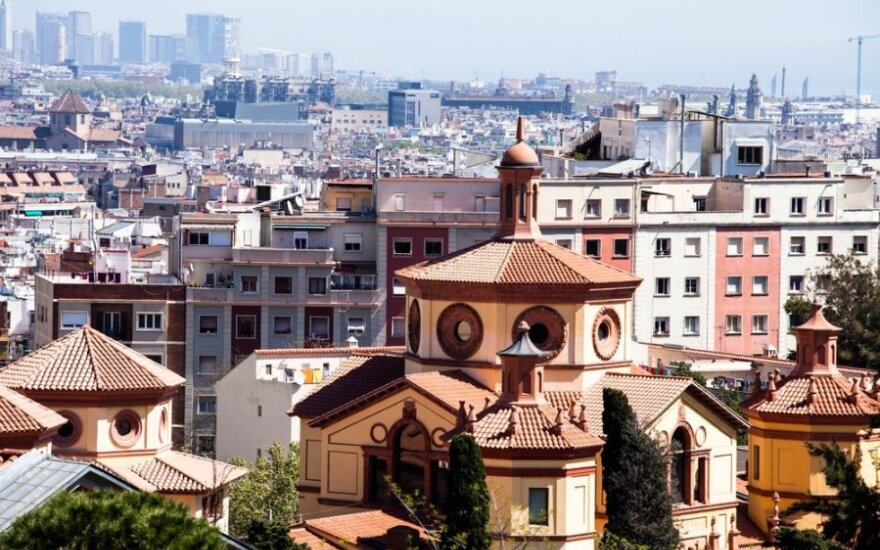 Po referendumo Katalonijoje gerokai sumažėjo turistų