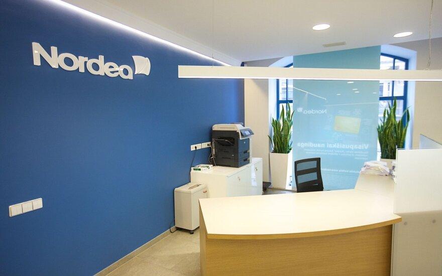"""Švedijos bankas """"Nordea"""" oficialiai tampa suomišku banku"""