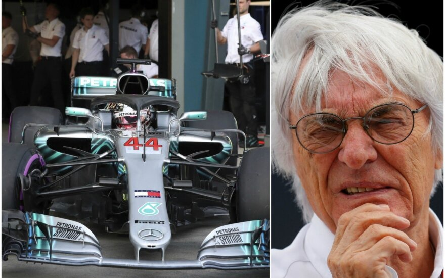 """Mercedes"" ir Bernie Ecclestone'as"