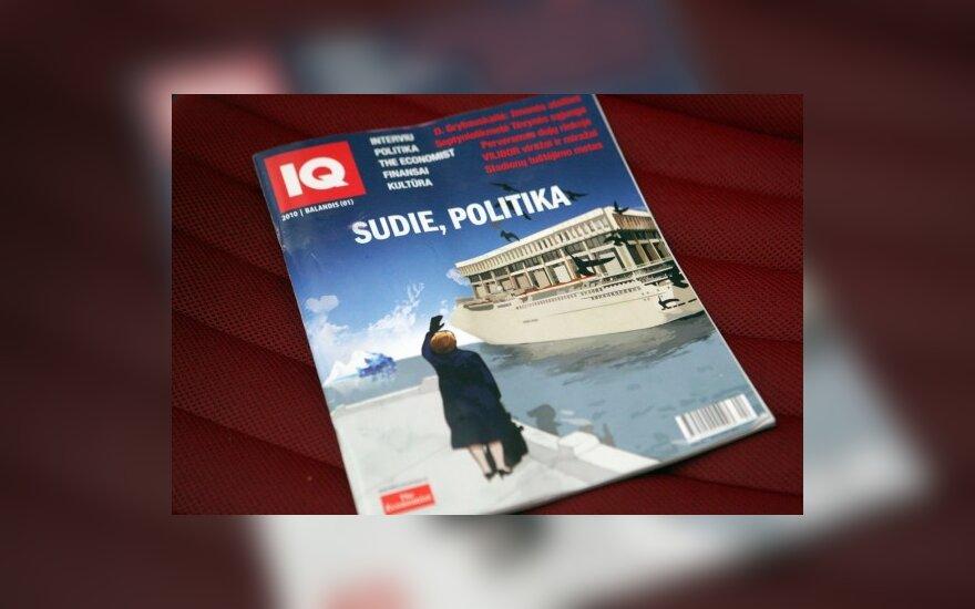 """Pasirodė pirmasis žurnalo """"IQ. The Economist"""" numeris"""