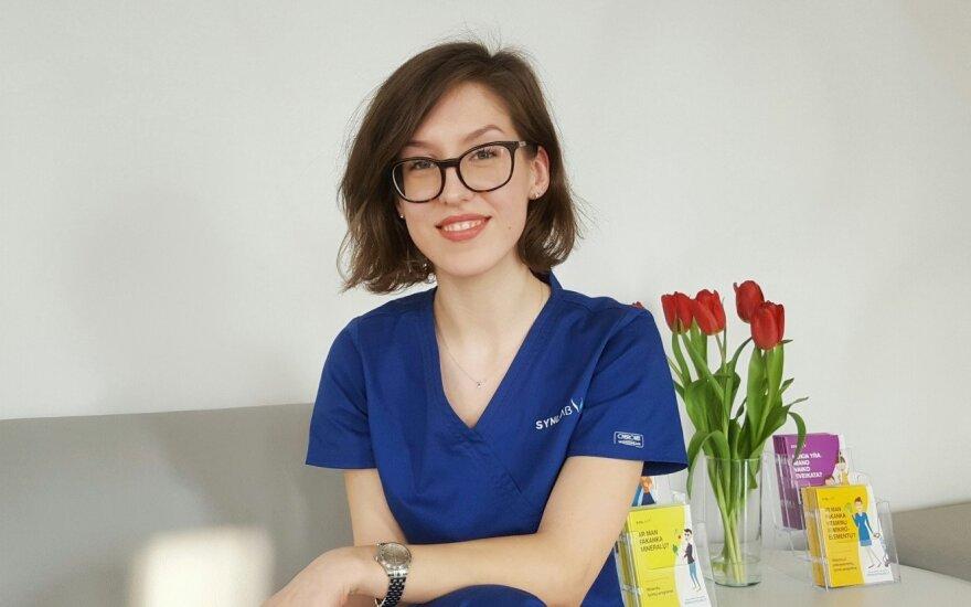 SYNLAB Lietuva tyrimų laboratorijos specialistė Rimantė Grigaravičiūtė