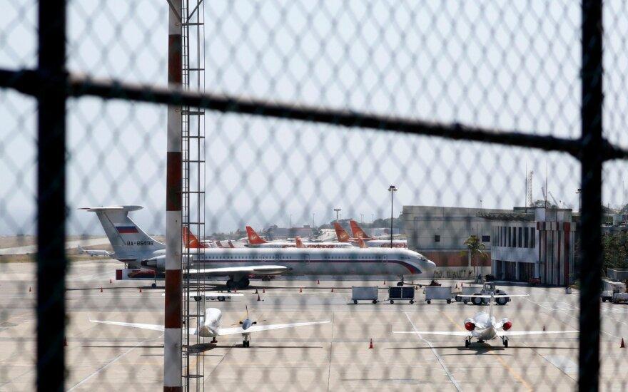 Venesueloje pastebėtas Rusijos lėktuvas