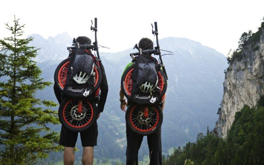 Bergmonch dviratis