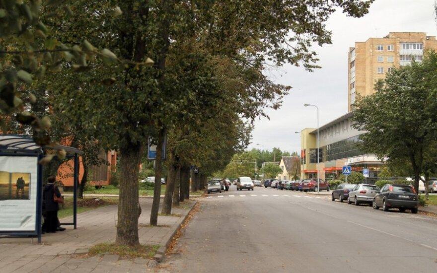 Aukštaičių gatvė Panevėžyje