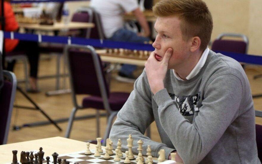 Paulius Pultinevičius / FOTO: RTU greitųjų šachmatų turnyras