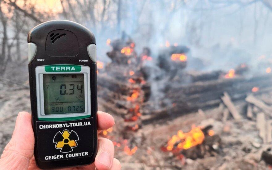 Gaisras Černobylyje