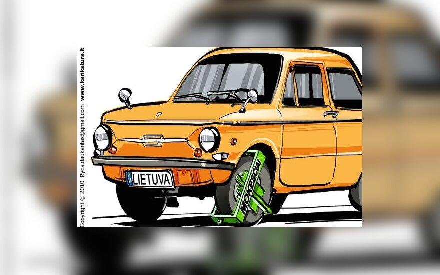 Kada Lietuva pribręs apmokestinti automobilius?