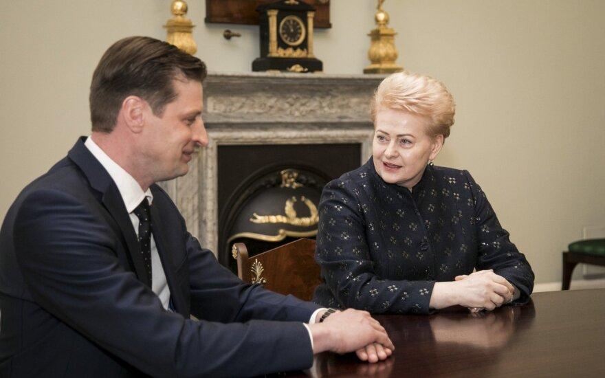 Kęstutis Mažeika, Dalia Grybauskaitė