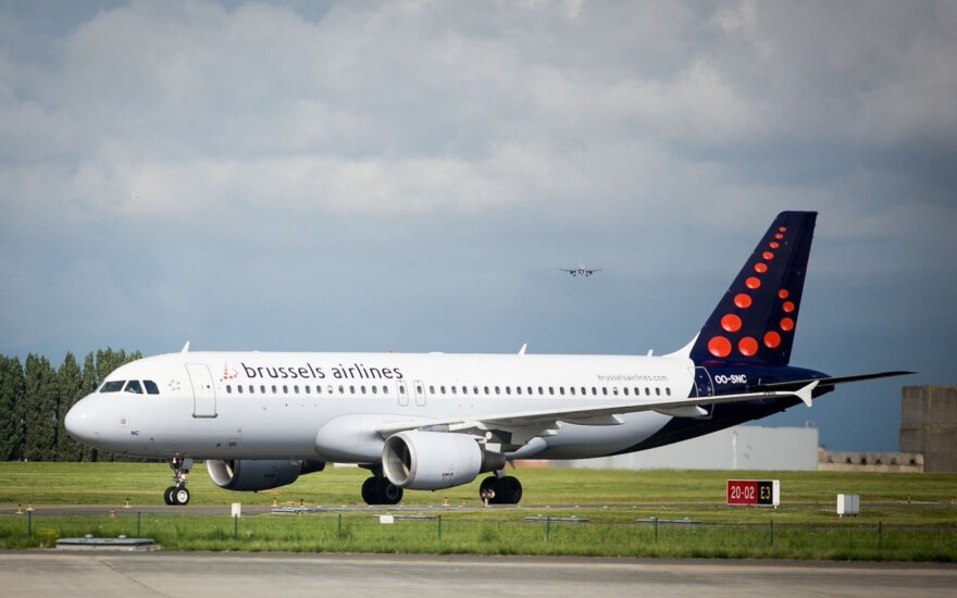 Brussels Airlines flights from Vilnius to land in Liege on Thursday