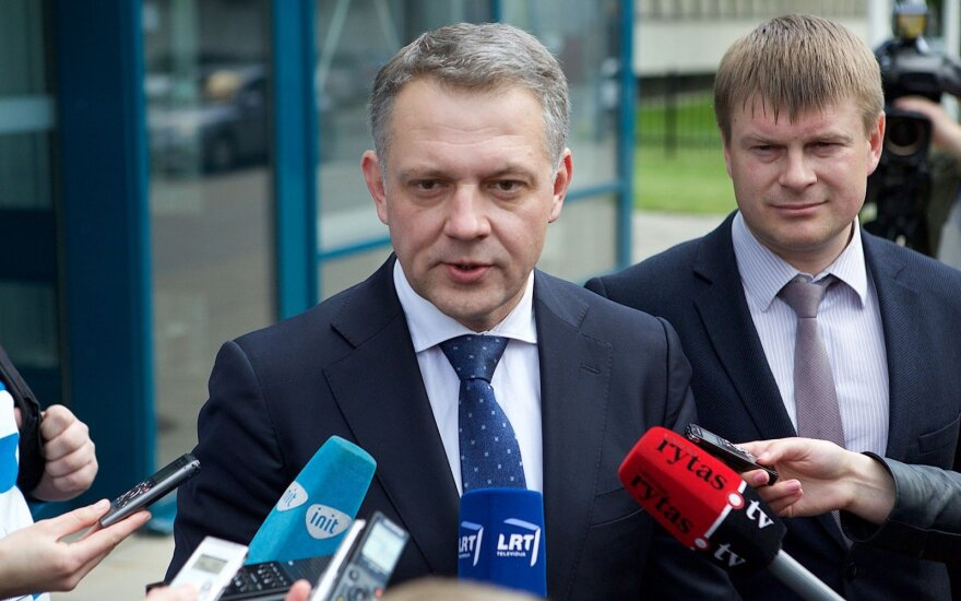 Former liberal leader Eligijus Masiulis is suspected of accepting a €106k bribe