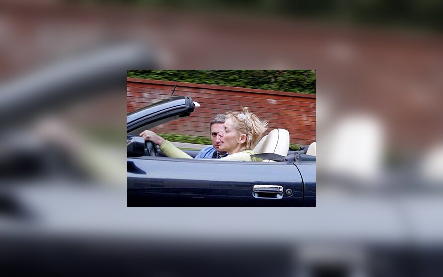 Sharon Stone ir Easonas Jordanas