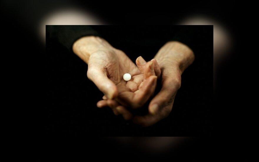 ES agentūra atskleidė slaptą medžiagą apie šalutinį vaistų poveikį