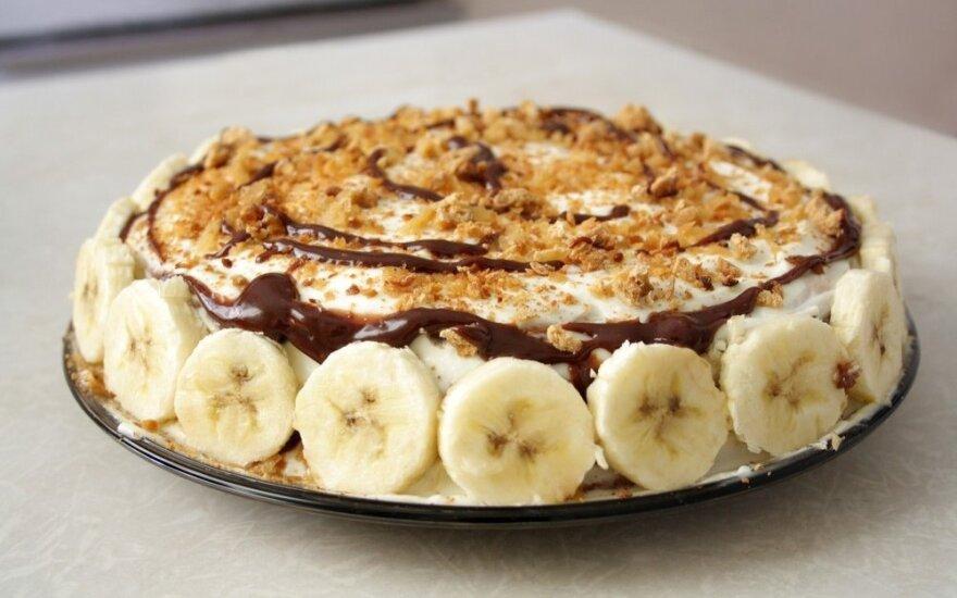 10 geriausių receptų su bananais