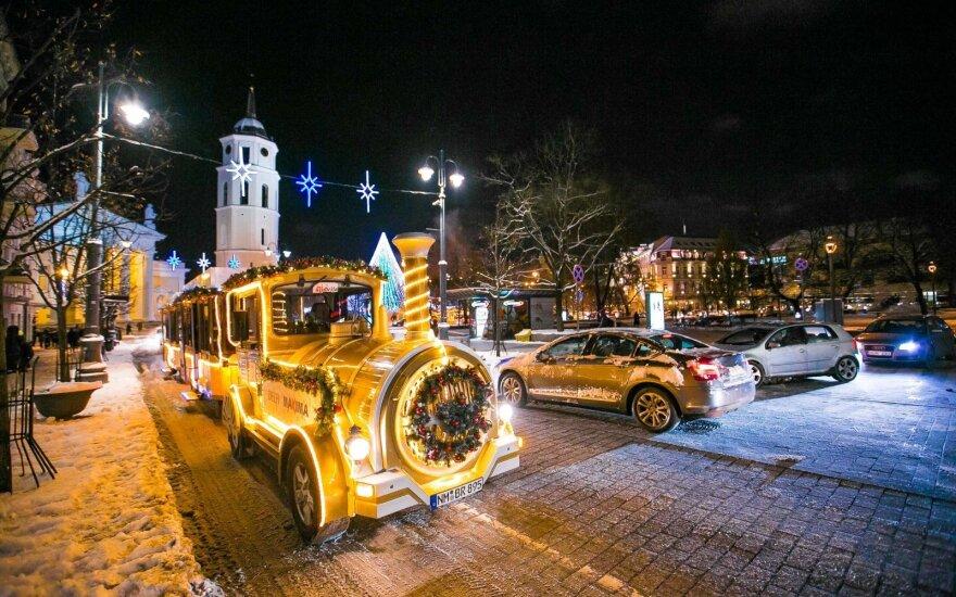 Išskirtinė proga neišbandžiusiems kalėdinio traukinuko: pasivažinėkite virtualiai