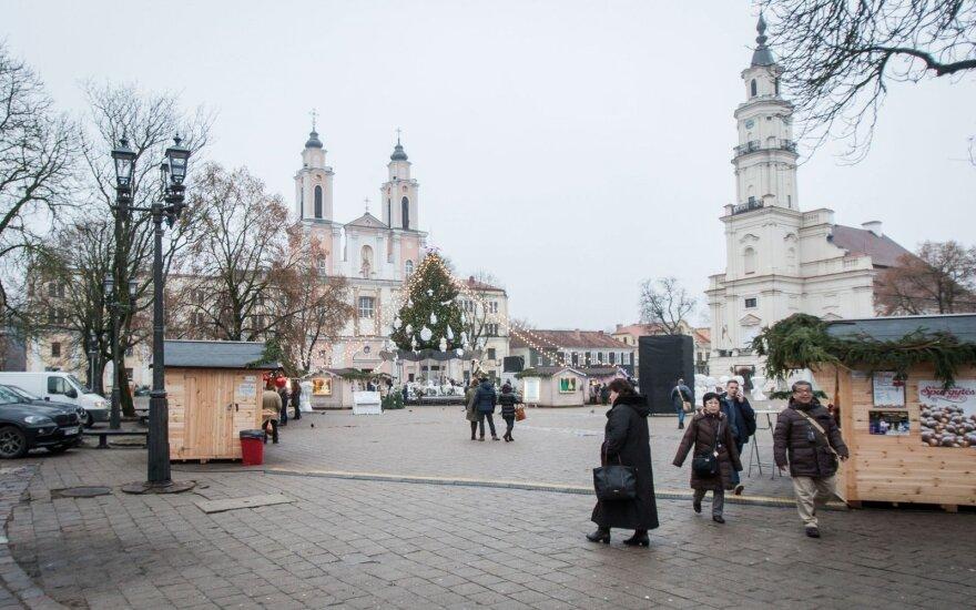Kauno Studentų skvere norima įamžinti akademikus