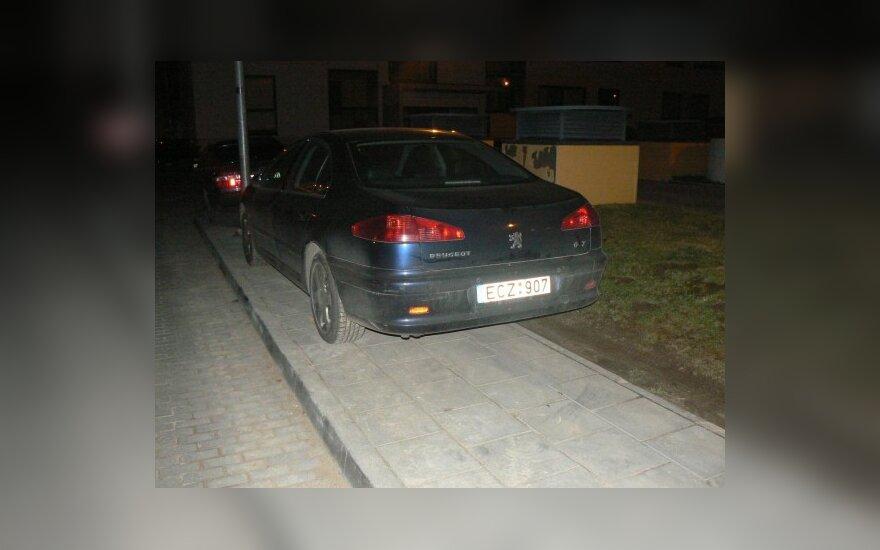 Vilniuje, Pašilaičiuose, Perkūnkiemio g. 2009-12-04, 00.37 val.