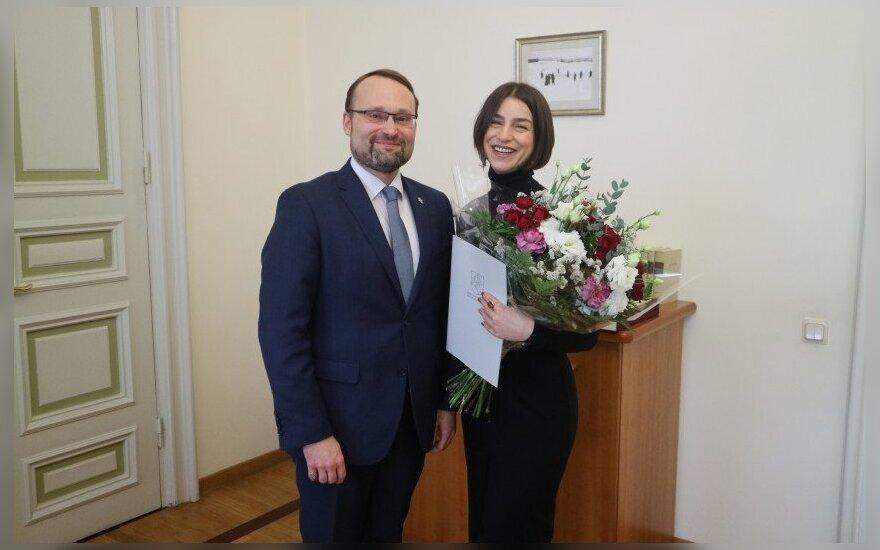 Mindaugas Kvietkauskas ir Asmik Grigorian