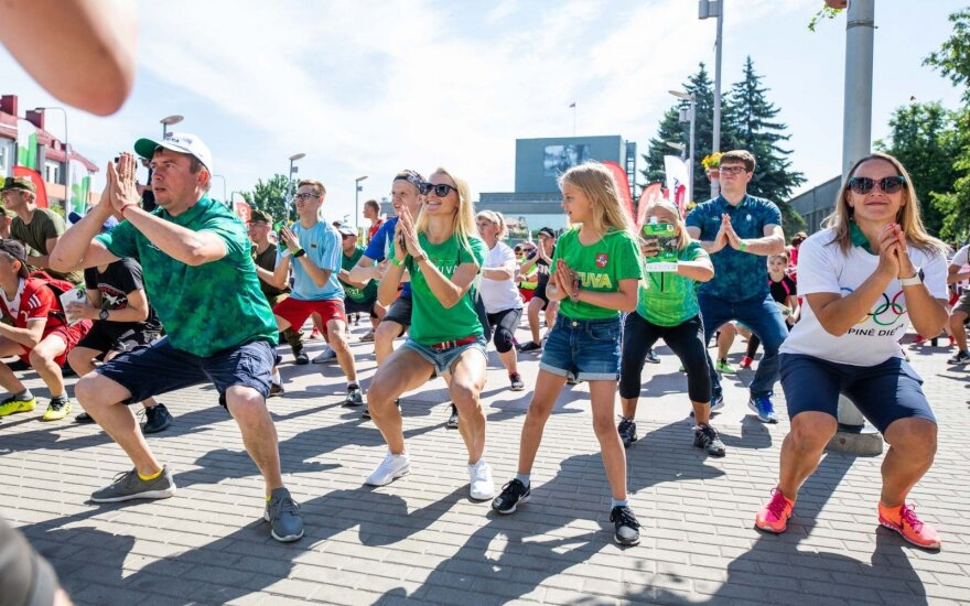 Olimpinės dienos pradžia Panevėžyje
