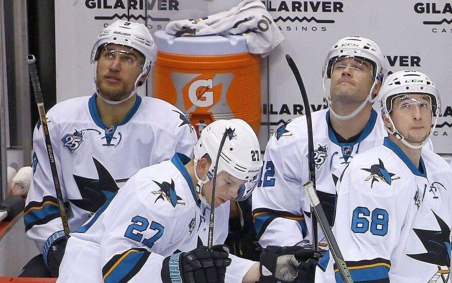 """""""Sharks"""" su D. Zubrumi iškovojo sausą pergalę"""