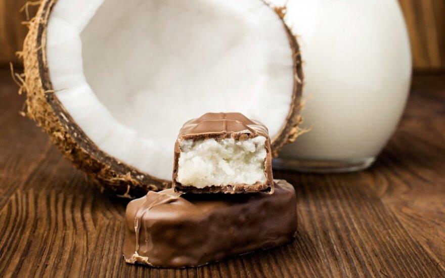 Kokosiniai šokoladukai