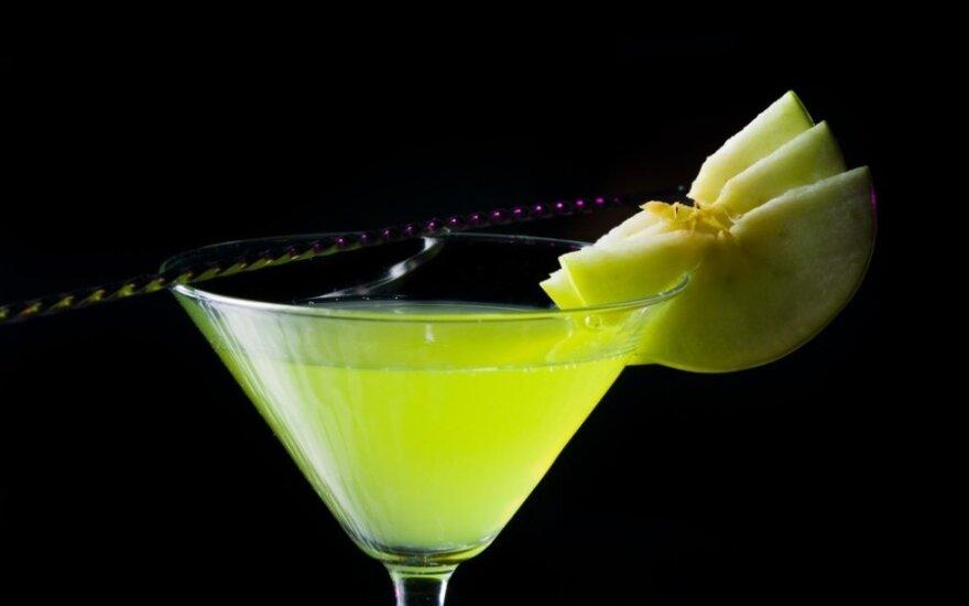 Appletini kokteilis