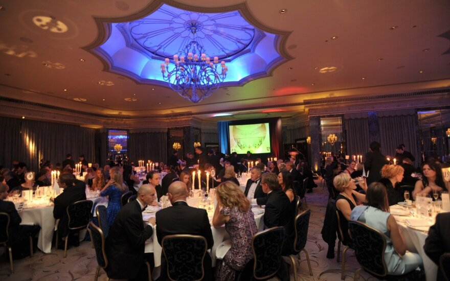 Lithuanian charity ball in London in 2016