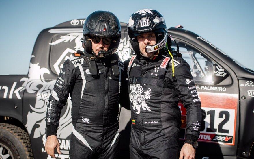 Kas Dakaro ralyje sportininkams gelbėja gyvybes?