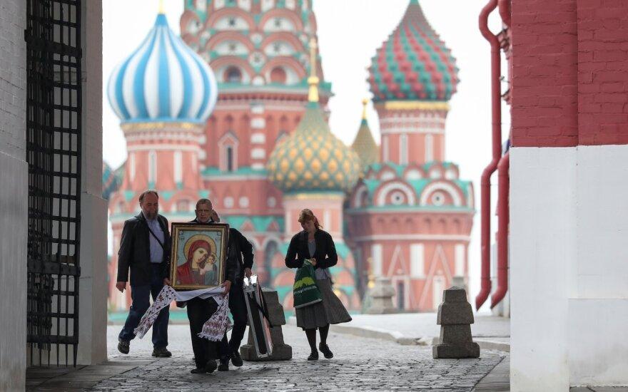 Rusijoje koronaviruso atvejų skaičius priartėjo prie 300 tūkstančių