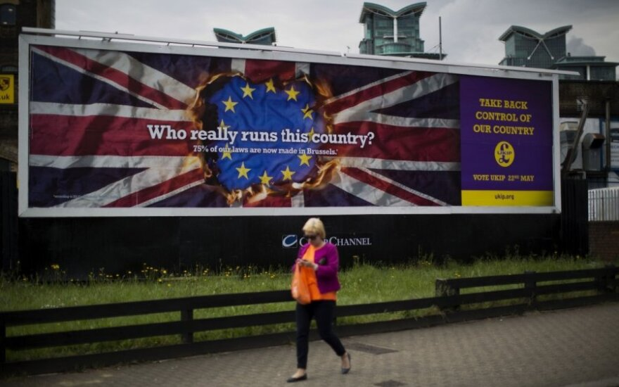 Didžiosios Britanijos Nepriklausomybės partijos rinkiminis plakatas