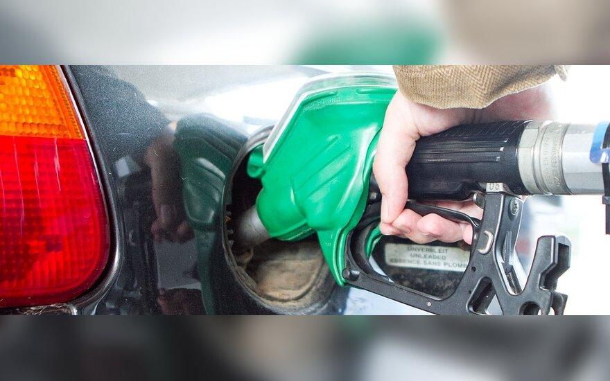 Degalų kainos patraukė į viršų